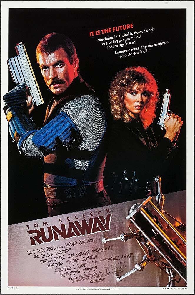Runaway 1984 Movie Poster